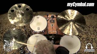 sabian 14 hhx evolution hi hat cymbals brilliant played by rick murray 11402xeb 1041515i