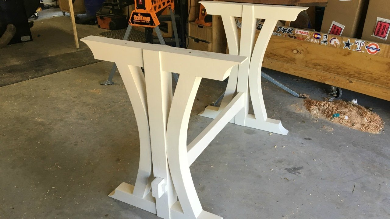 How to Build a Kitchen Table - Walnut Dining Table