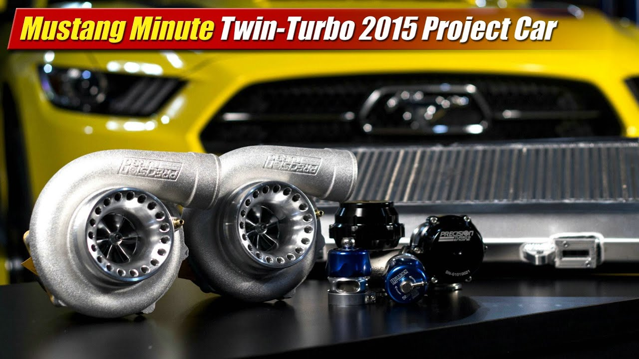 Mustang Minute: Hellion twin-turbo 2015 Mustang hits 711