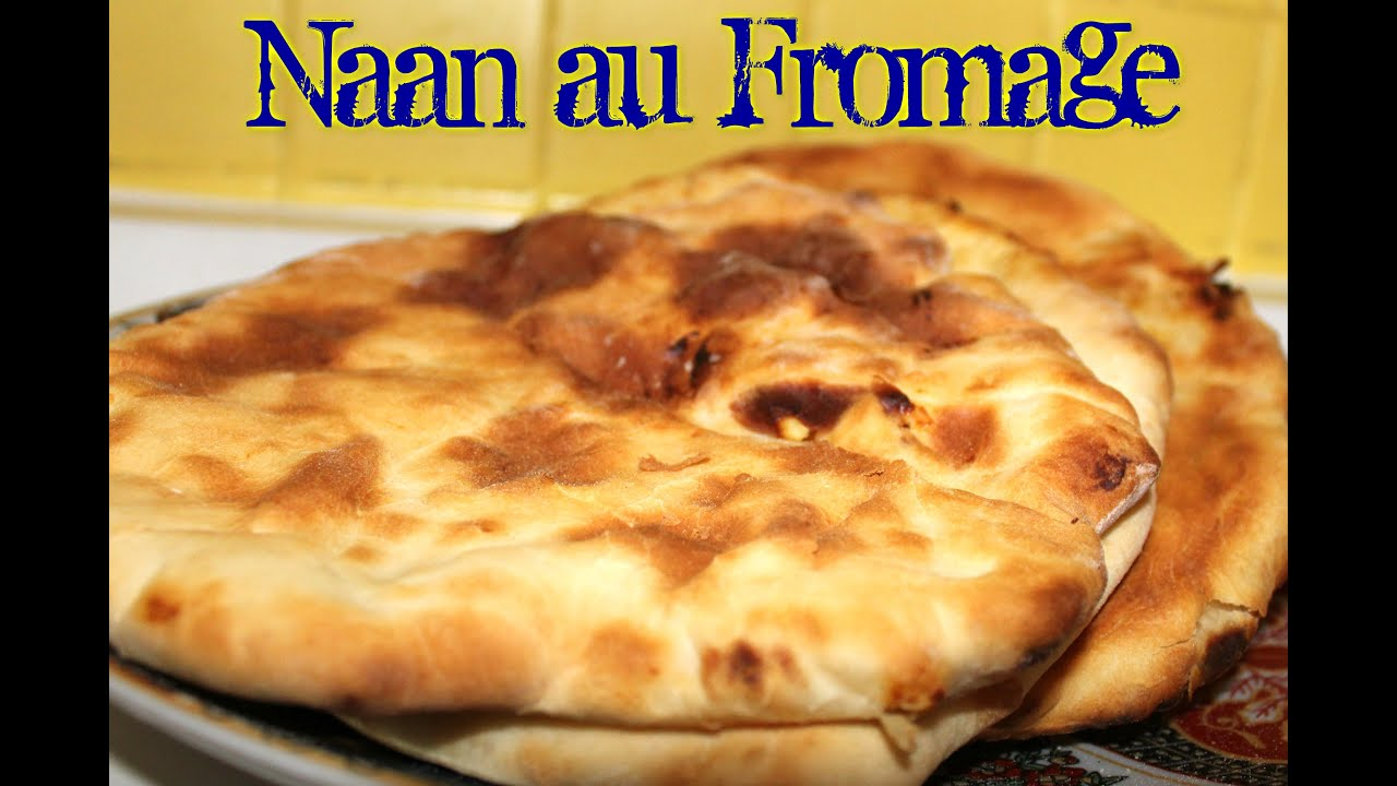 naan au fromage recette simple youtube. Black Bedroom Furniture Sets. Home Design Ideas