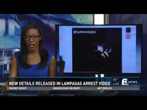 New details released over Lampasas arrest video gone viral
