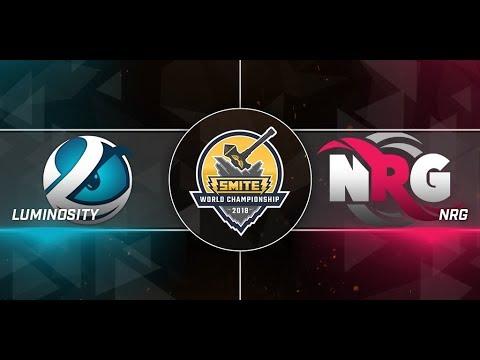 SWC 2018 Quarterfinals NRG Esports vs Luminosity Gaming Game 1