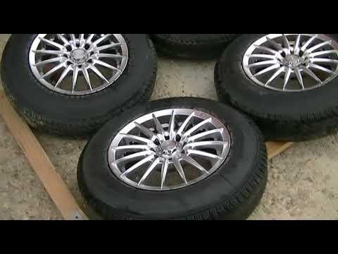 Комплект колёс в сборе, R13 литые диски+резина 4 шт.