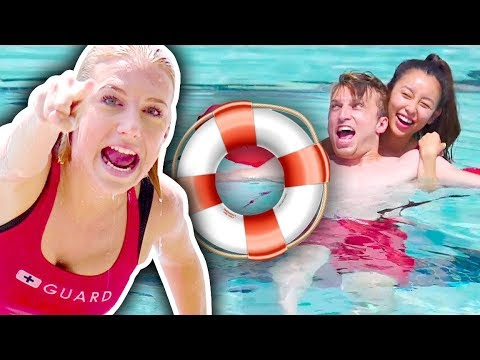 BECOMING LIFEGUARDS FOR