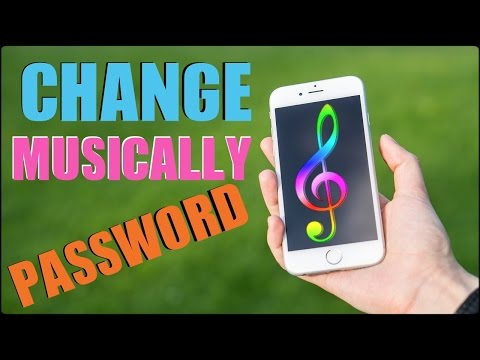 How To Change Musically Password 2017