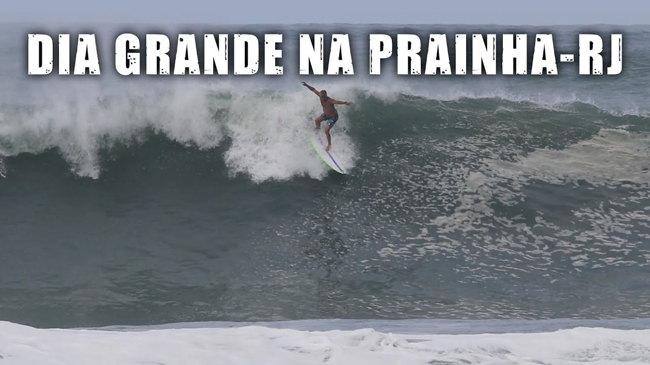 Dia GRANDE na Prainha-RJ - Vlog SURFE TV #47