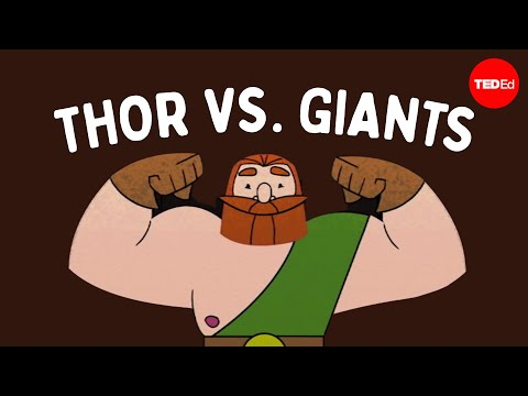 The myth of Thor's journey to the land of giants - Scott A. Mellor