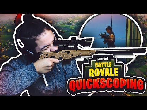 *NEW* INSANE SNIPERS ONLY MODE- FORTNITE BATTLE ROYALE! OMG QUICKSCOPES! DID I REALLY HIT THAT? WIN!