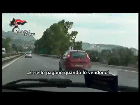 Carabinieri: operazione antidroga a Palermo. INTERCETTAZIONI E ARRESTO IN DIRETTA