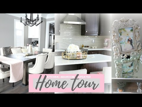 KITCHEN AND BEDROOM UPDATED HOME TOUR!🏡💕 -SLMissGlamVlogs🏡💕