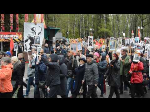парад в обнинске на 9 мая 2016 брови способны