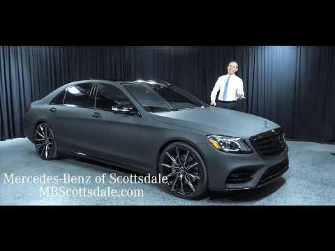 2018 Mercedes-Benz S-Class S 450 - New and Different - from Mercedes Benz of Scottsdale
