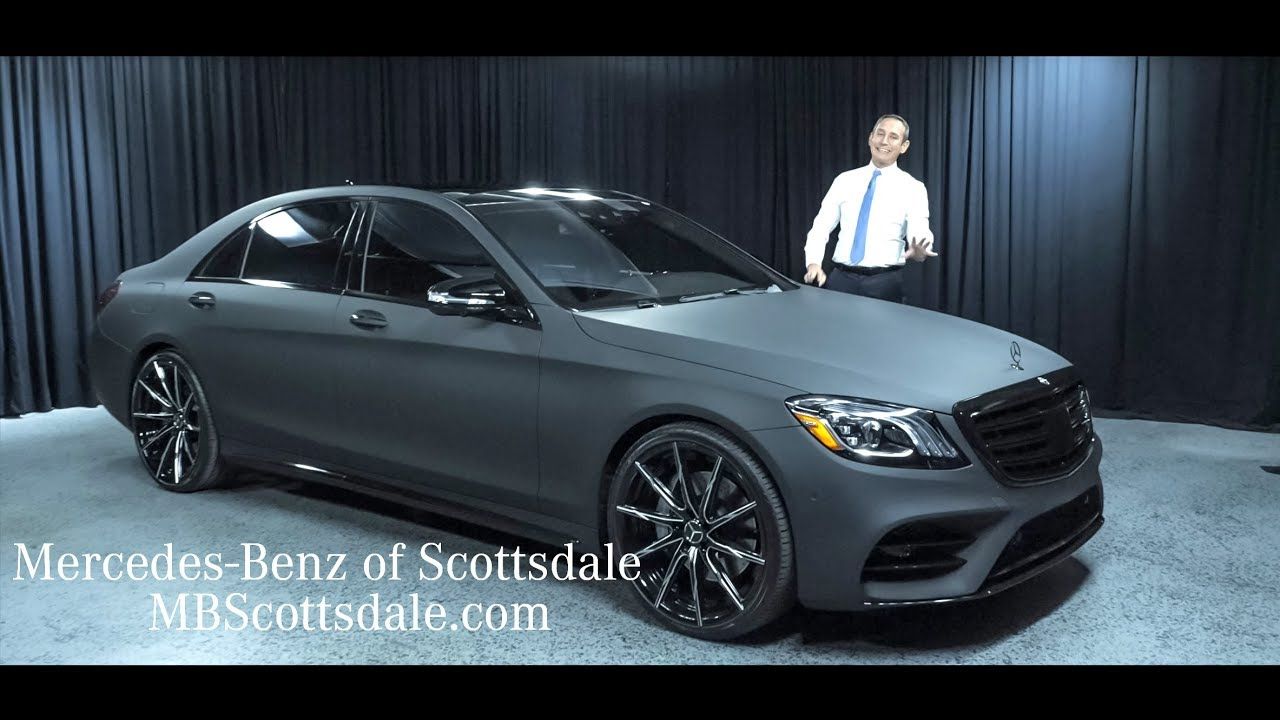 Mercedes Benz Of Scottsdale >> 2018 Mercedes Benz S Class S 450 New And Different From Mercedes Benz Of Scottsdale