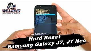Hard Reset Samsung Galaxy J7 J700, J7 Neo J701,  Formatar e Desbloquear