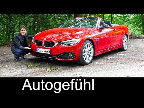 2016 BMW 4 Series Convertible 4er Cabriolet FULL REVIEW test driven 428i - Autogefühl