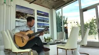 www.brianmoranmusic.com 7 string Stephen Faulk guitar.