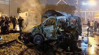 Турция: теракт в Стамбуле, десятки жертв(29 человек погибли и 166 пострадали в субботу вечером в результате двух взрывов в Стамбуле возле стадиона..., 2016-12-11T07:43:35.000Z)