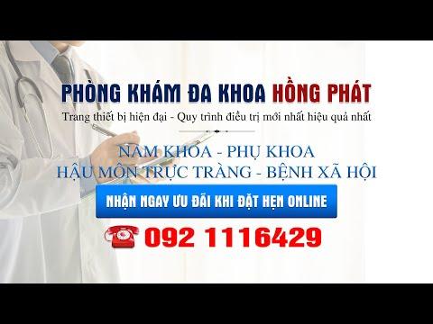 Giới thiệu phòng khám đa khoa Hồng Phát Hải Phòng