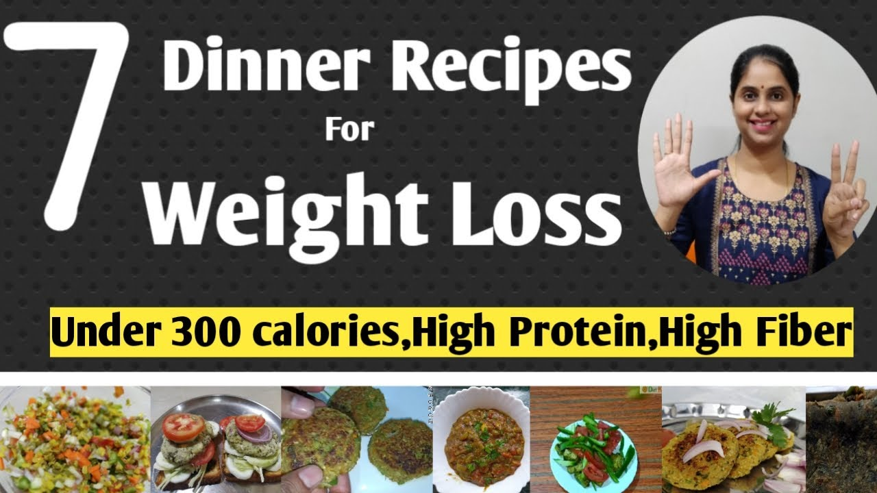 7 Dinner Recipes for Weight loss |Healthy Dinner recipes |quick and easy dinner recipes|THEOLY serum