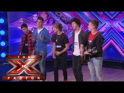 Overload sing Bastille's Pompeii - Audition Week 1 - The X Factor UK 2014