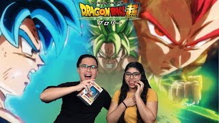 Dragon Ball Super: Broly Trailer #3 Reaction and Review! (ALL HAIL BROLY) | GOKU, VEGETA VS BROLY!