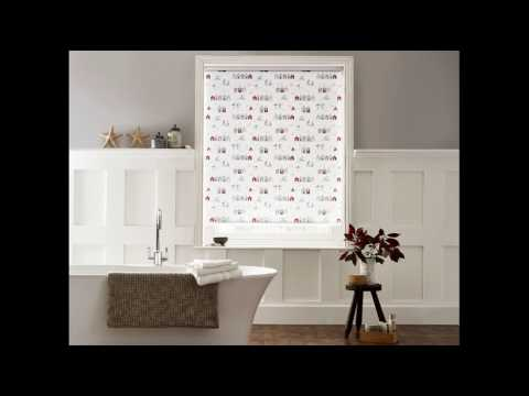 PVC Roller Blinds for Bathroom at Home Designs