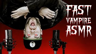 ASMR FAST & RAW VAMPIRE TRIGGERS for Shivers, Goosebumps and Tingles