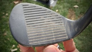 Why You Should Clęan Your Wedge Grooves