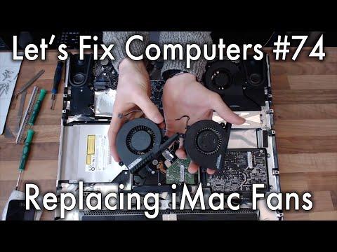 LFC#74 - Replacing iMac Fans