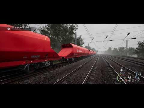 Train Sim World | Class 66 | Aggregate Industries full scenario