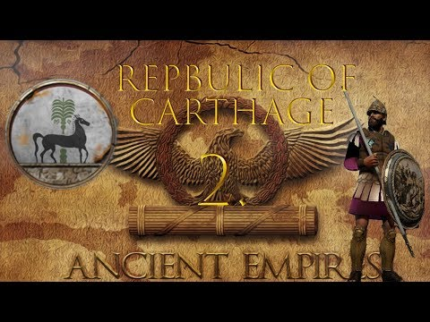 Gaining all of Africa  - Ancient empires mod - Carthage campaign - Total War : Attila - Part 2