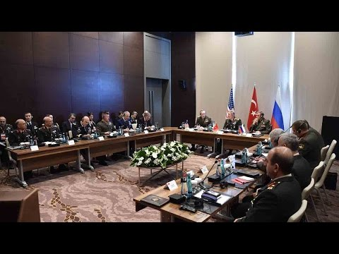 Erdogan and Putin to discuss Syrian security, fighting ISIL