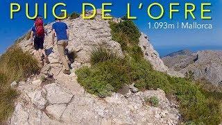 Mallorca, Puig de l'Ofre, 1.093m: Hiking Route