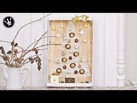 DIY - Geschenkidee | Weihnachtsdeko | Pralinen originell verpacken | GEWINNSPIEL | PP