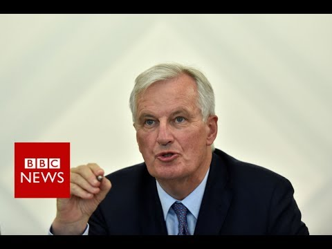 "BREXIT Negotiations: Barnier: ""I'm not hearing any whistling..just the clock ticking""  - BBC News"