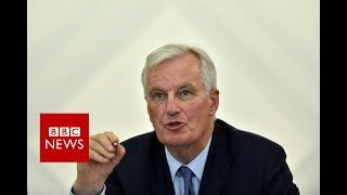 """BREXIT Negotiations: Barnier: """"I"""