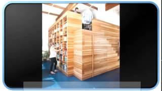 Blue Modern Loft House Plans