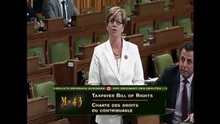 Karen rises to support Motion 43 regarding the Taxpayers Bill of Rights(Description., 2016-06-16T15:05:51.000Z)