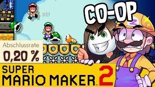 GLPs 0,20% Level mit ihm Gemeinsam ! | SUPER MARIO MAKER 2 Coop