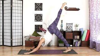 Video Morning Yoga - Energizing Full Body Stretch Routine download MP3, 3GP, MP4, WEBM, AVI, FLV Maret 2018