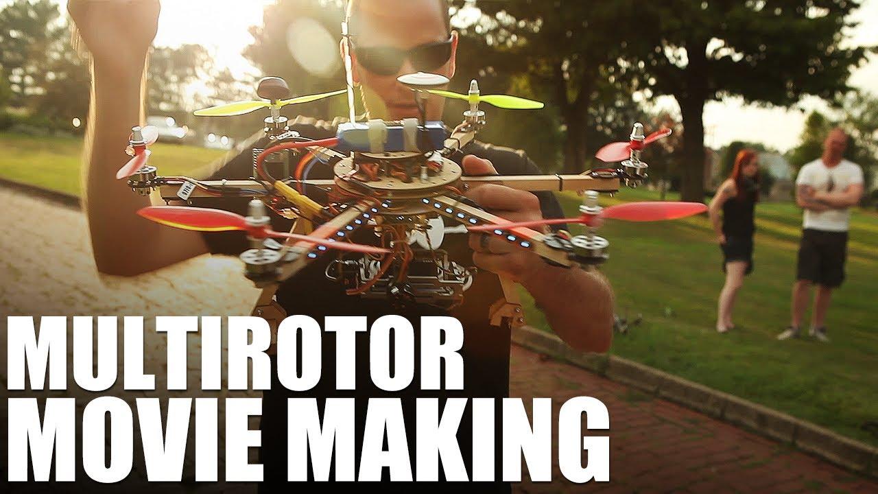 Flite Test - Multirotor Movie Making - YouTube