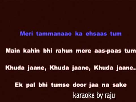 baaton ko teri karaoke cover version with lyrics