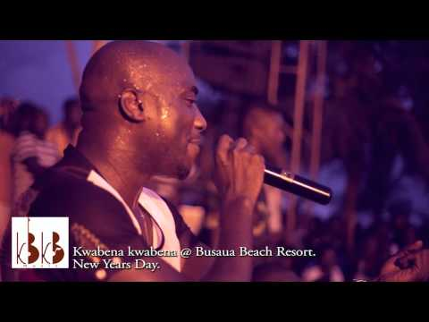 Kwabena Kwabena - Performance at Busua Beach Resort on New Year's Day