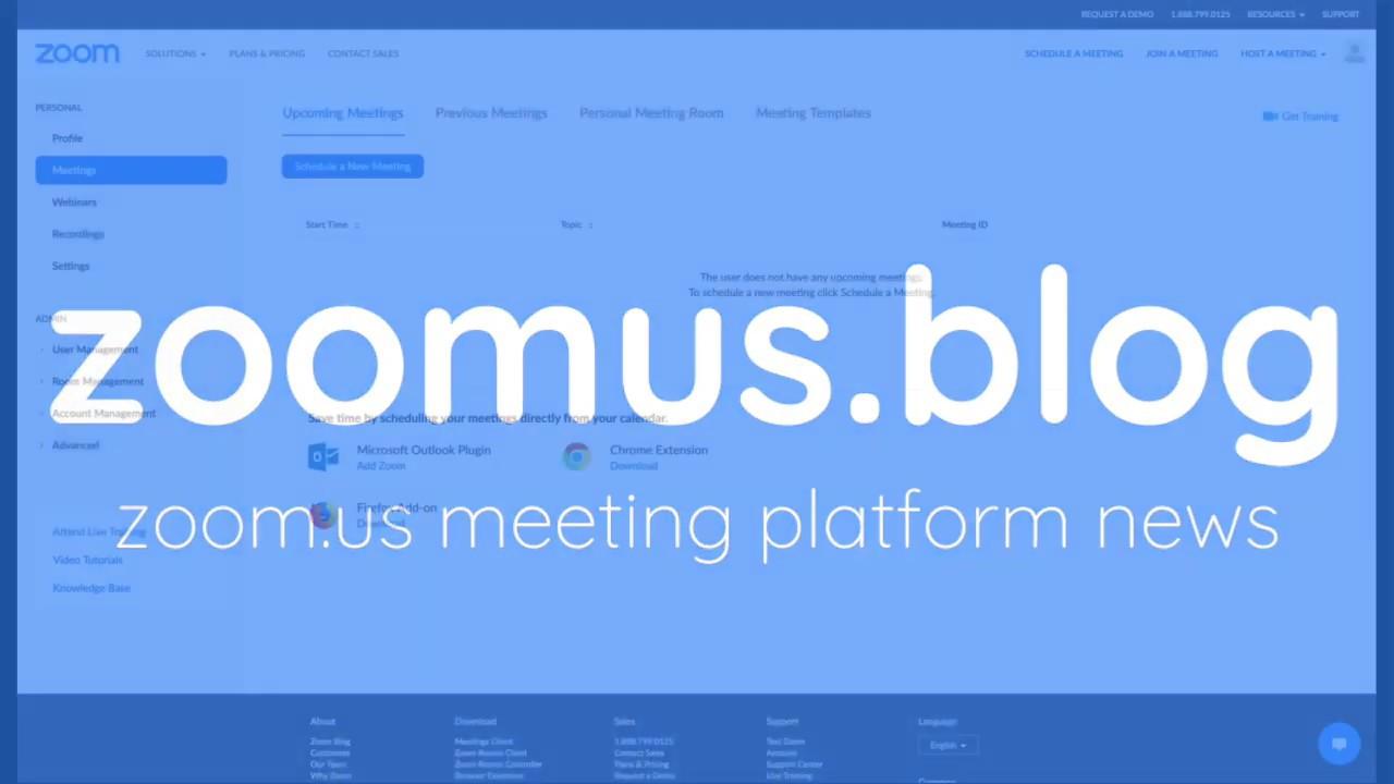 Zoom Meetings - jak włączyć losowe numery spotkań (Meeting ID) dla wszystkich użytkowników?