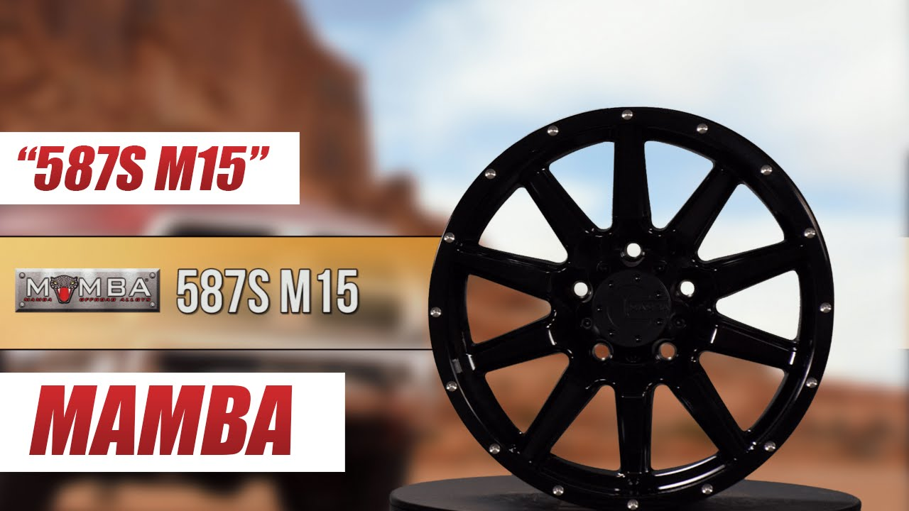 mamba wheels 587s m15 gloss black youtube