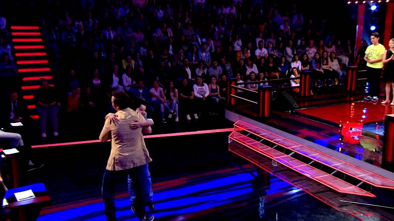 Mustafa Ceceli'nin Yarı Final Kararı(O Ses Çocuklar Türkiye) 1. Sezon 8.Böüm