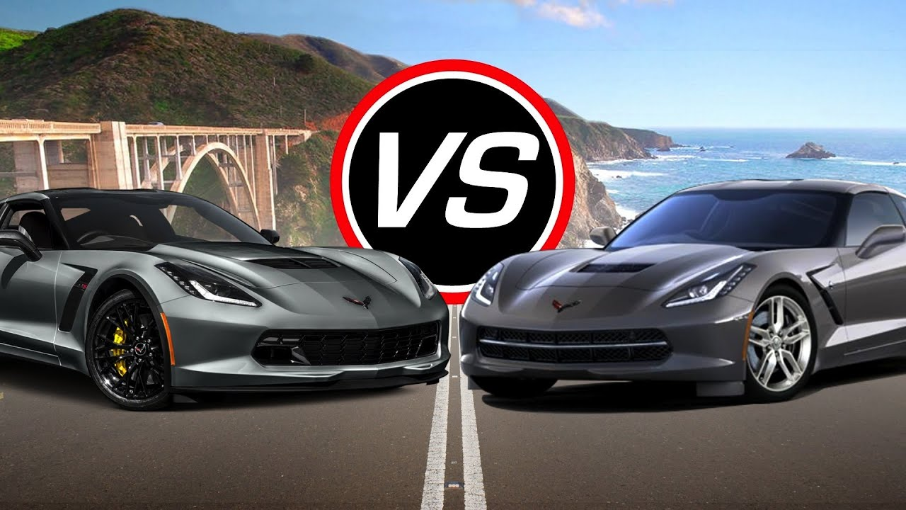 2016 Chevy Corvette Z06 vs Corvette Stingray - Spec ...