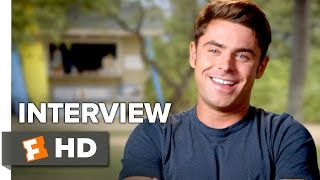 Mike and Dave Need Wedding Dates Interview - Zac Efron (2016) - Comedy