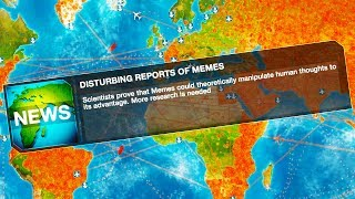 MEMES Have Spread to CHINA in Plague Inc: Evolution!