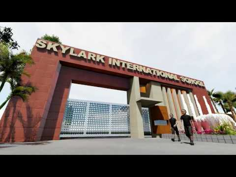 Skylark international school barwala main gate design yt for International decor gates